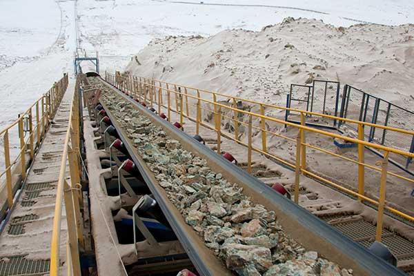 sampling conveyor